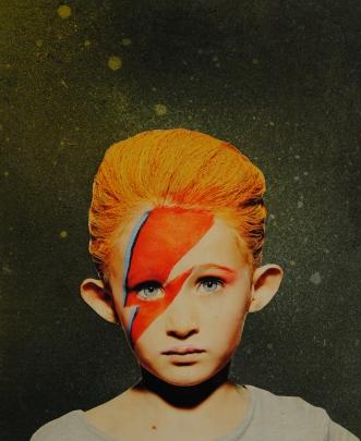 Mr. Stardust. Collage. 2015