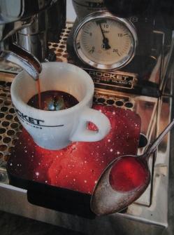 Kosmik Kafee. Collage. 2016