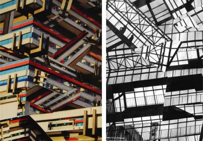 Die Münster. Dyptique. Collage 2016