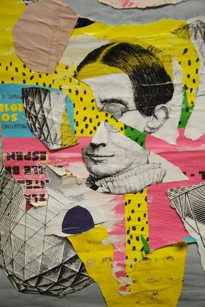 Portrait. Collage 2015